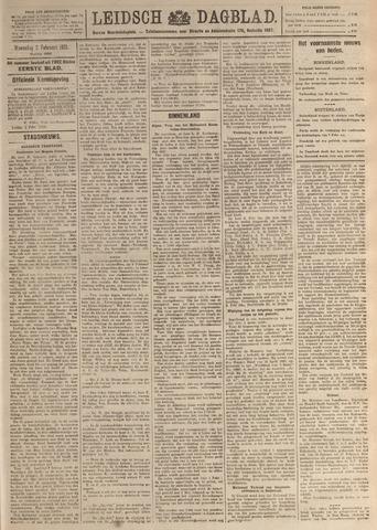 Leidsch Dagblad 1921-02-02