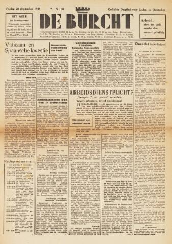 De Burcht 1945-09-28