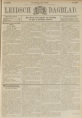 Leidsch Dagblad 1893-07-21