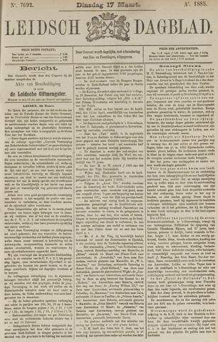 Leidsch Dagblad 1885-03-17