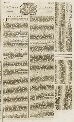 Leydse Courant 1822-10-02