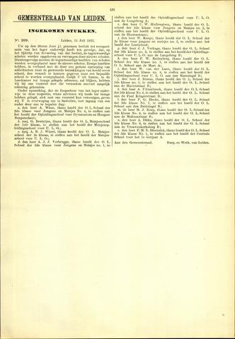 Handelingen van de Raad 1922-07-13