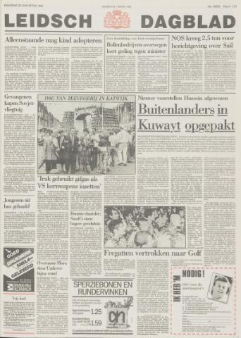Leidsch Dagblad 1990-08-20