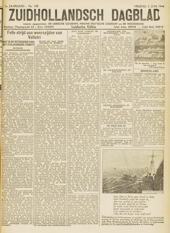 Zuidhollandsch Dagblad 1944-06-02