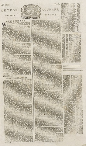 Leydse Courant 1820-05-29