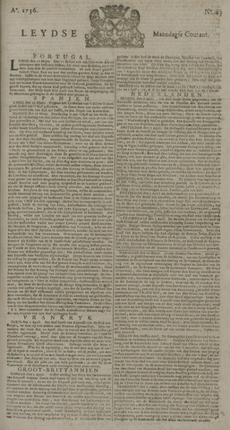 Leydse Courant 1736-04-09