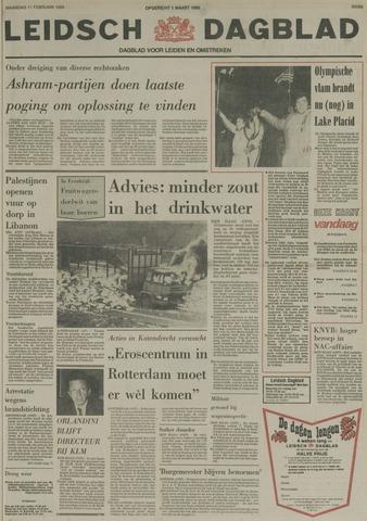 Leidsch Dagblad 1980-02-11