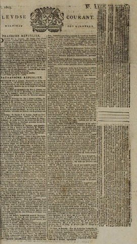 Leydse Courant 1803-01-19