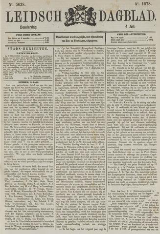 Leidsch Dagblad 1878-07-04