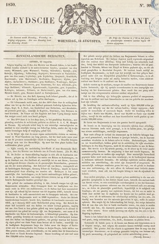 Leydse Courant 1850-08-14