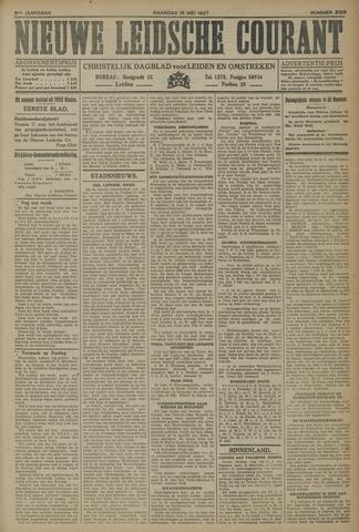 Nieuwe Leidsche Courant 1927-05-16