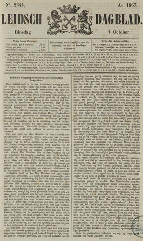 Leidsch Dagblad 1867-10-01