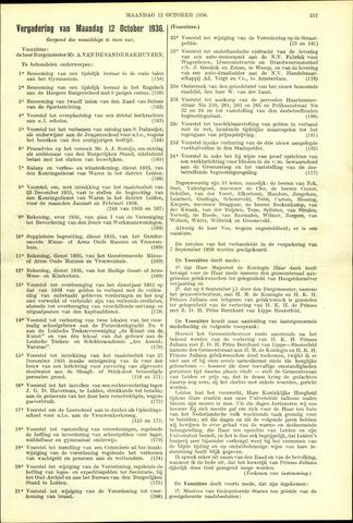 Handelingen van de Raad 1936-10-12