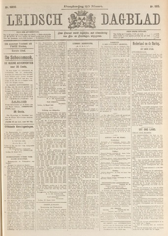 Leidsch Dagblad 1915-03-25