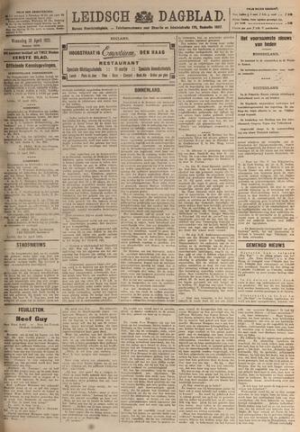 Leidsch Dagblad 1921-04-13