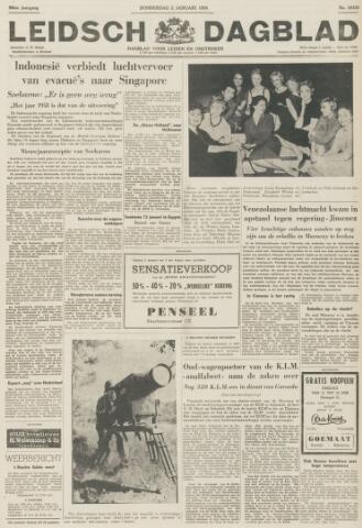 Leidsch Dagblad 1958