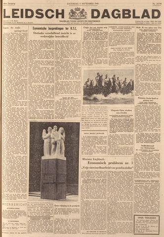 Leidsch Dagblad 1949-09-17