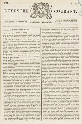 Leydse Courant 1853-12-07