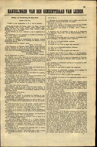 Handelingen van de Raad 1873-06-19