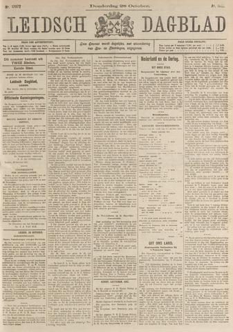 Leidsch Dagblad 1915-10-28