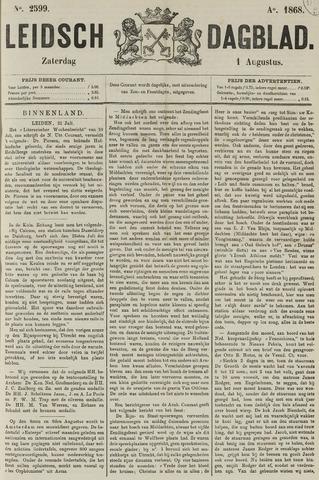 Leidsch Dagblad 1868-08-01