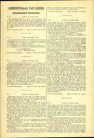 Handelingen van de Raad 1936-01-10