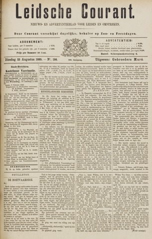 Leydse Courant 1885-08-25