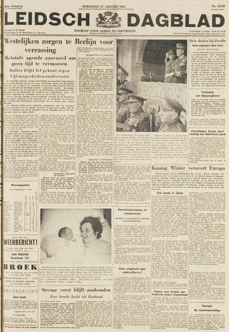 Leidsch Dagblad 1954-01-27