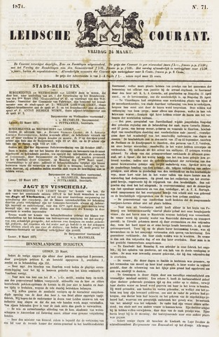 Leydse Courant 1871-03-24