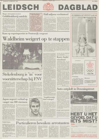 Leidsch Dagblad 1988-02-16