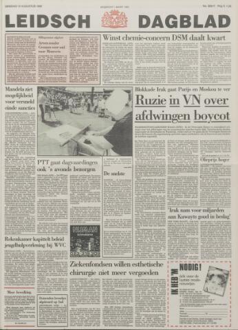 Leidsch Dagblad 1990-08-14