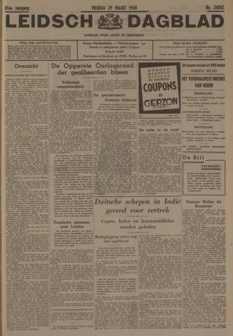 Leidsch Dagblad 1940-03-29