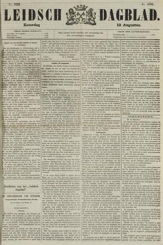 Leidsch Dagblad 1870-08-13