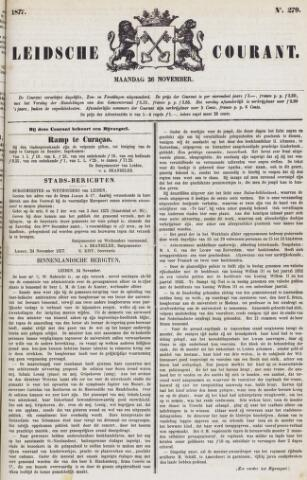 Leydse Courant 1877-11-26
