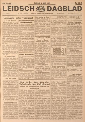 Leidsch Dagblad 1942-04-04