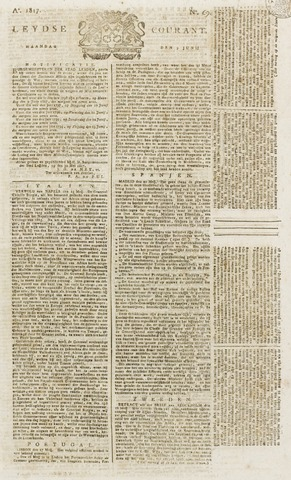 Leydse Courant 1817-06-09