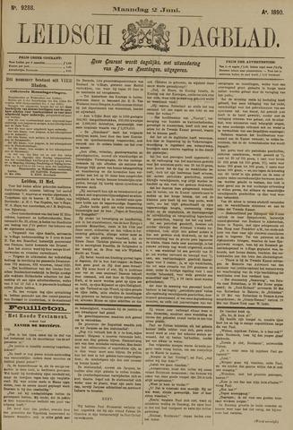 Leidsch Dagblad 1890-06-02