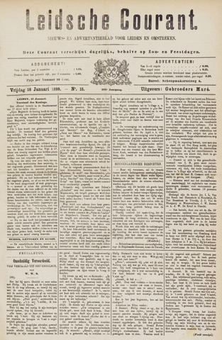 Leydse Courant 1889-01-18