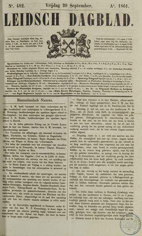 Leidsch Dagblad 1861-09-20