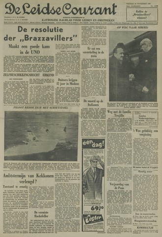 Leidse Courant 1961-11-24