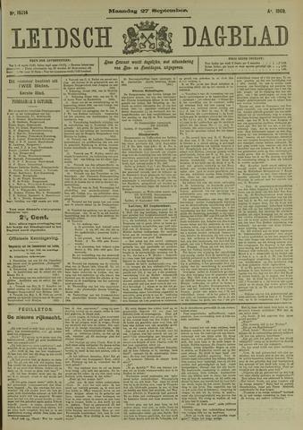 Leidsch Dagblad 1909-09-27