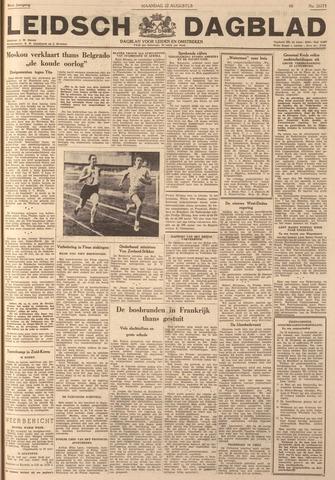 Leidsch Dagblad 1949-08-22