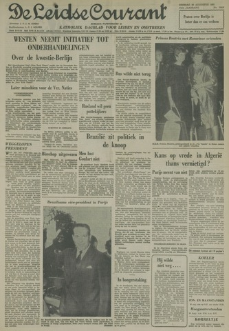 Leidse Courant 1961-08-29