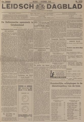 Leidsch Dagblad 1940-11-01