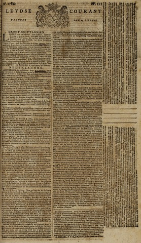 Leydse Courant 1784-10-25