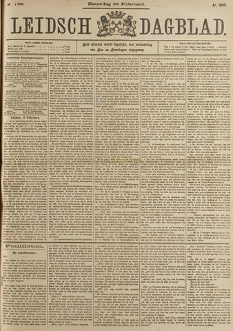 Leidsch Dagblad 1899-02-18