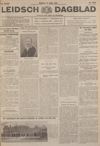 Leidsch Dagblad 1930-04-29