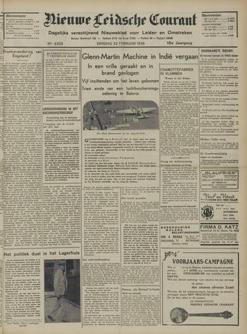 Nieuwe Leidsche Courant 1938-02-22