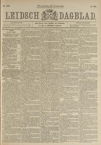 Leidsch Dagblad 1901-02-27
