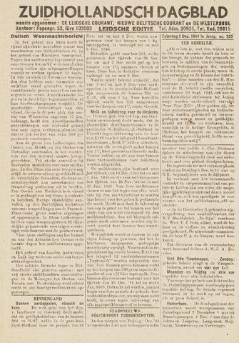 Zuidhollandsch Dagblad 1944-12-02